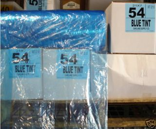 Dry Cleaning Poly Garment Bags 54 BLUE  350 bags/roll