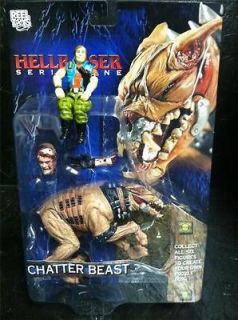 Neca Hellraiser Chatter Beast Action Figure Puzzle Box Clive Barker