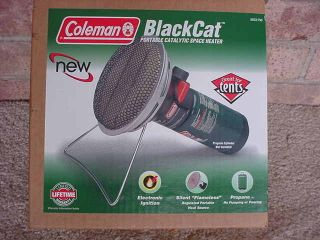 NEW Coleman BlackCat Portable PLATINUM Catalytic Heater NEW IN BOX