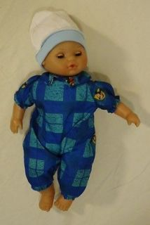 Lissi BF456 Vintage Baby Doll Opening Eyes Plastic Fabric