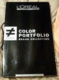 LÓreal Color Portfolio Hair Color Swatch Book