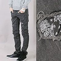 ripped skinny jeans in Mens Clothing