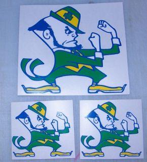 Notre Dame Fighting Irish decal   sticker