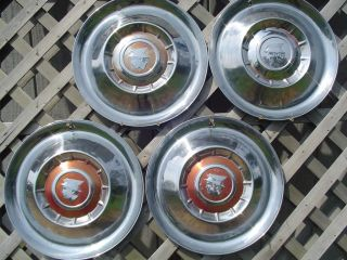 MERCURY HUBCAPS GRAND MARQUIS COLONY PARK WHEEL COVERS ANTIQUE VINTAGE