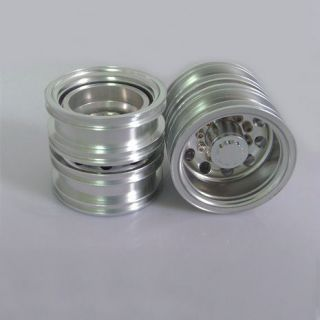 Billet Machined Alloy Rear Wheel for Tamiya 1/14 Scale Semi Truck