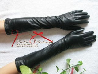 NEW SHEEP Can choose LEATHER LONG OPERA BALL GLOVES 50CM (sq01)