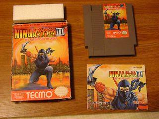 Ninja Gaiden 3 III The Ancient Ship of Doom (Nintendo, 1991) NES