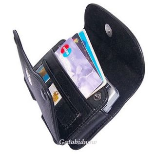 Galaxy Rugby Pro Luxury Leather Wallet Protect Case Phone Carry Pouch