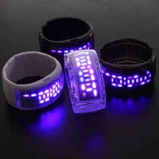 Fashion Jewelry Lady Women Bracelet Bangle Styled LED Digital Wrist