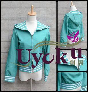 Madoka Magica Kyoko Sakura Cosplay Jacket Coat Cos Outfit Customize
