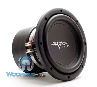 SKAR AUDIO 8 SUB DUAL 4 OHM LOUD PRO BASS CAR SUBWOOFER SPEAKER NEW