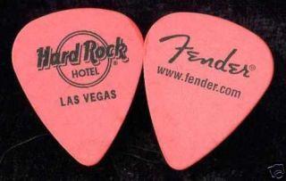 HARD ROCK CAFE Authentic Guitar Pick Las Vegas