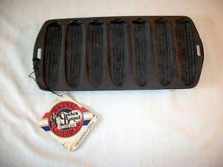 Cracker Barrel Cornstick Cornbread Pan Original Tag Care Instructions