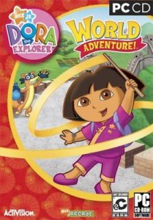 Dora The Explorer World Adventure PC Computer kid family nick jr