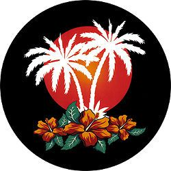 Aloha   Custom Spare Tire Cover   Wheel Cover