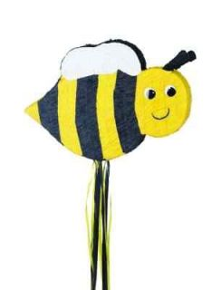 Bee Pull String Pinata   Kids Themed Birthday Party Supplies & Games