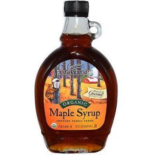 Coombs Family Farms, Organic Maple Syrup, Grade B, 12 fl oz (354 ml)