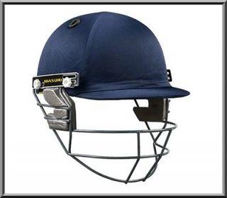 New 2013 Masuri Club Cricket Helmet BNIB Steel Grill, Mens & Large