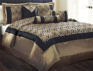 luxury gold comforter sets