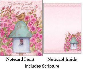 Baby Bird Chorus Boxed Note Cards Legacy Sherri Buck Baldwin NEW for