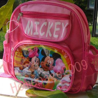 NEW CUDDY Mickey & Minnie Mouse Love Girls Shoolbag Small backpack
