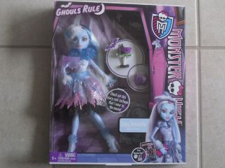 MONSTER HIGH ABBEY BOMINABLE GHOULS RULE  EXCLUSIVE VHTF!!!