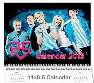 Ross Riker Lynch R5 Band 2013 Wall Photo Calendar