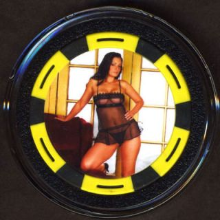 Porn Star Aria Giovanni Poker Chip Card Cover Guard