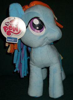Pony Friendship is Magic Rainbow Dash 11 Wal mart Excl Plush Toy NWT