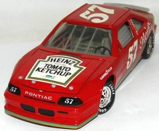 REVELL 124 DIE CAST CAR 1991 HUT STRICKLIN HEINZ KETCHUP 57 PONTIAC