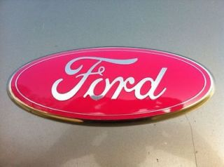 ALL 9 Grille or Tailgate Emblem COVER,CUSTOM PINKBreast Cancer