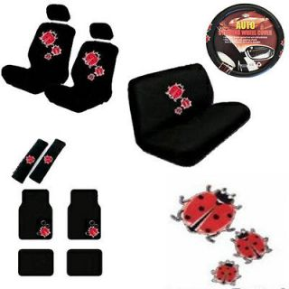 cute car seat cover set