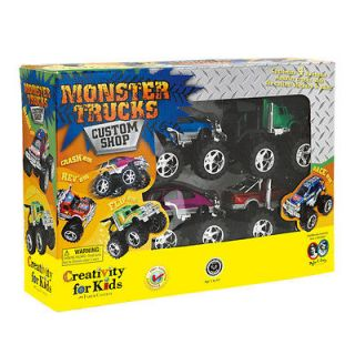 NEW: Creativity for Kids Monster Trucks Custom Shop #1166