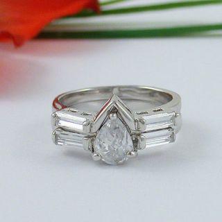 carat cubic zirconia ring