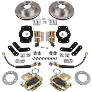 listed Summit Racing® Rear Drum to Disc Brake Conversion Kit BK1329 X
