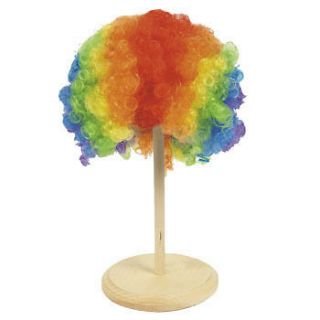 Rainbow Clown Wig Halloween Fun Giveaways Party Favor