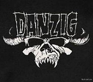 DANZIG TRIBAL LOGO SAMHAIN metal punk rock T Shirt 2XL 3XL NWT