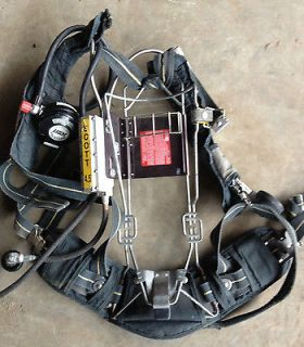 Scott 4.5 Wire Frame air pack SCBA Harness 4500psi Air Pak high