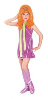 Scooby Doo Daphne Child Halloween Costume Size 12 14 Large