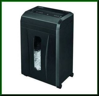 NEW Fellowes PowerShred B081C Cross Cut Paper Shredder 3376001
