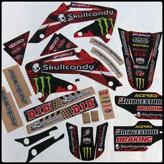GRAPHICS FOR HONDA CRF 450 2002 2004 CRF450 450R STICKERS DECALS