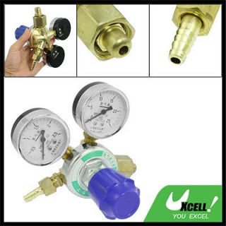 Reduced Pressure Flow meter Decrement Gauge Nitrogen Gas Regulator