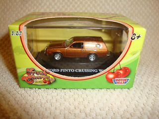 1977 Ford Pinto Cruising Wagon 1/87 Scale   Motor Max Fresh Cherries