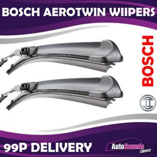 BOSCH AEROTWIN WIPERS (Pair) for DAEWOO TICO 1991 2005
