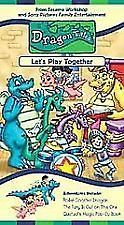 Dragon Tales #6   Lets Play Together (2001, VHS)