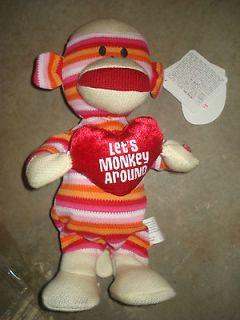 Day Gift Dancing Singing Sock Monkey DJ Got Us Falling in Love