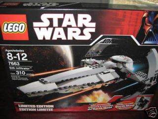 star wars lego 7663 sith infiltrator in Toys & Hobbies