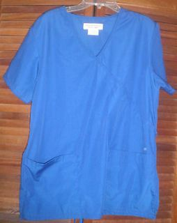 WOMENS SCRUB PANTS AND TOP   SIZE SMALL   NATURA​L UNIFORMS NATUR