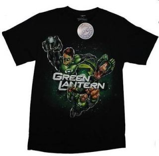 DC COMICS T SHIRT GREEN LANTERN POWER RING LICENSED ADULT MENS TEE S