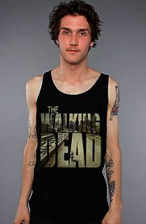 The Walking Dead Shirt   Poster T Shirt   Black Tank Top